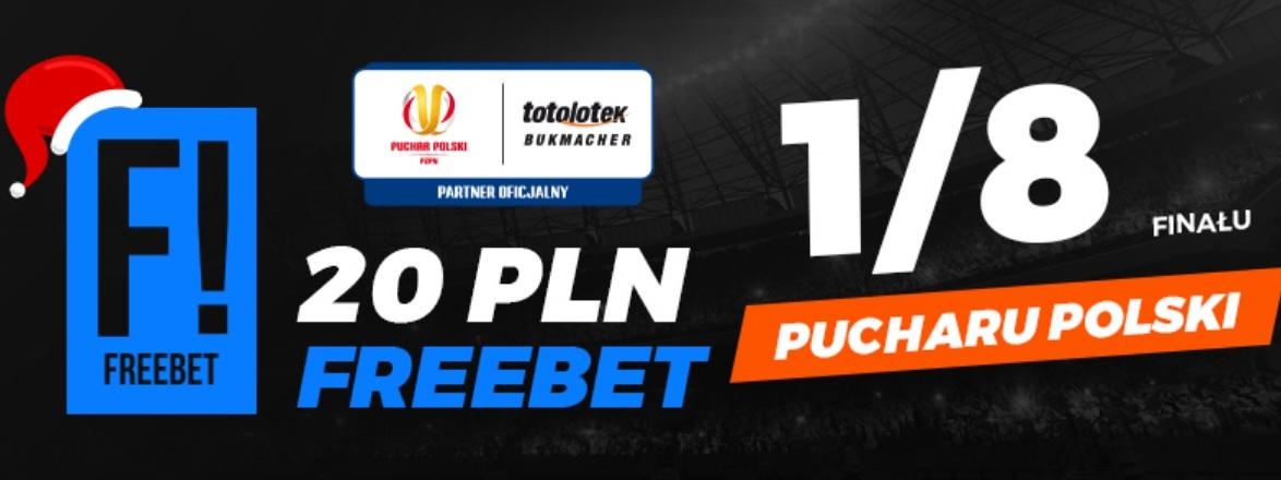 Totolotek z mikołajkowym freebetem na Puchar Polski