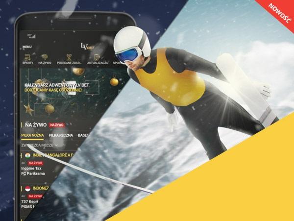 LvBET z bonusem na skoki w aplikacji mobilnej!
