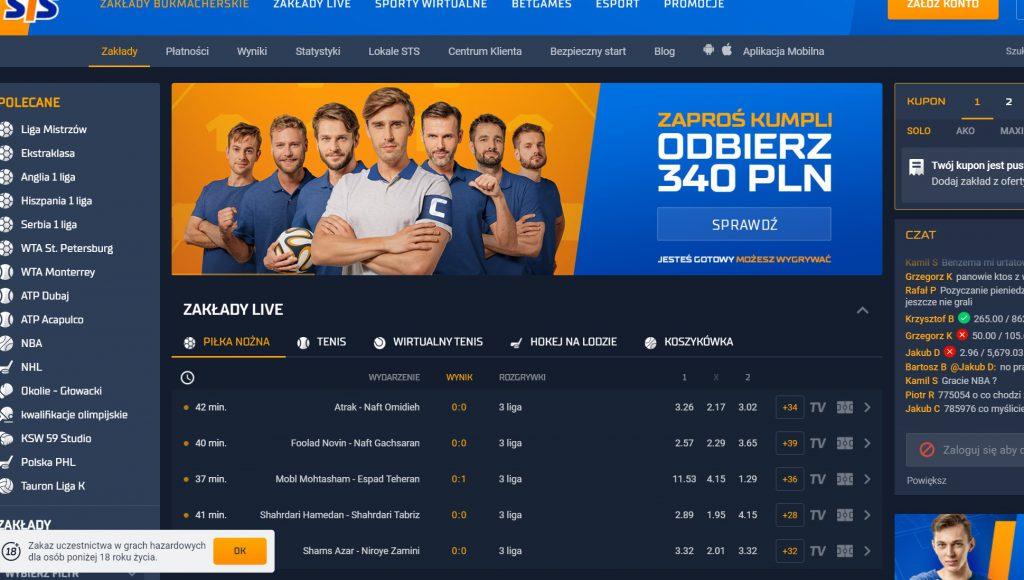 Oficjalna strona STS.pl