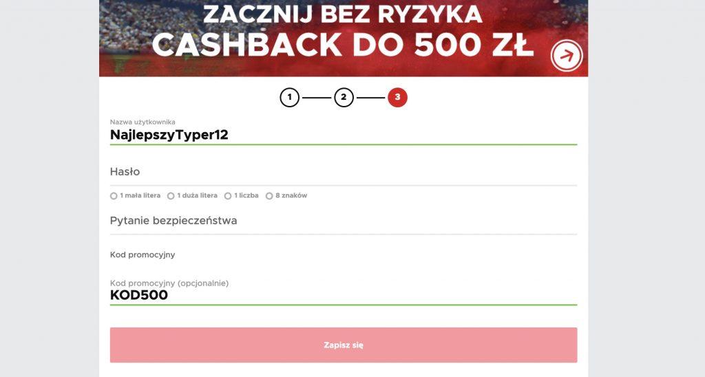 Zakłady legalne BetClic. Bonus 500 PLN na start!